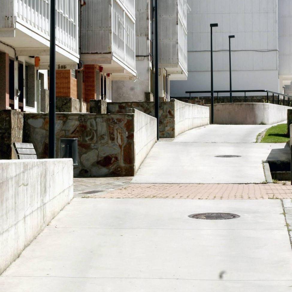 Acondicionamiento calle Arquitecto Domingo Andrade