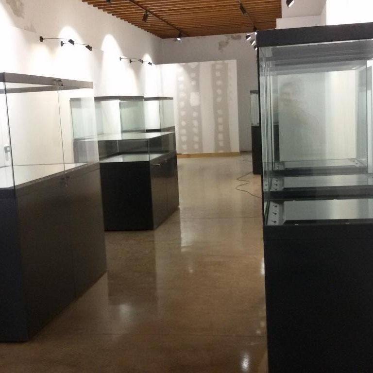 Vitrinas Museo Arqueólogico de Lanzarote